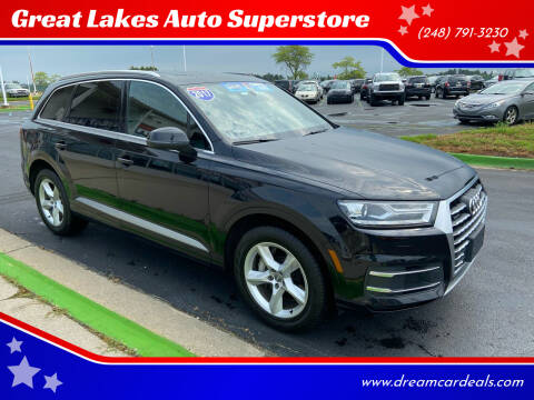 2017 Audi Q7 for sale at Great Lakes Auto Superstore in Waterford Township MI