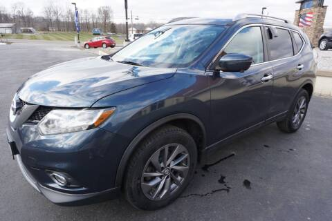 2016 Nissan Rogue for sale at MyEzAutoBroker.com in Mount Vernon OH
