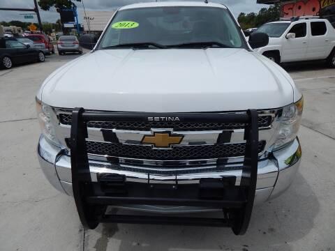 2013 Chevrolet Silverado 1500 for sale at Auto Outlet of Sarasota in Sarasota FL