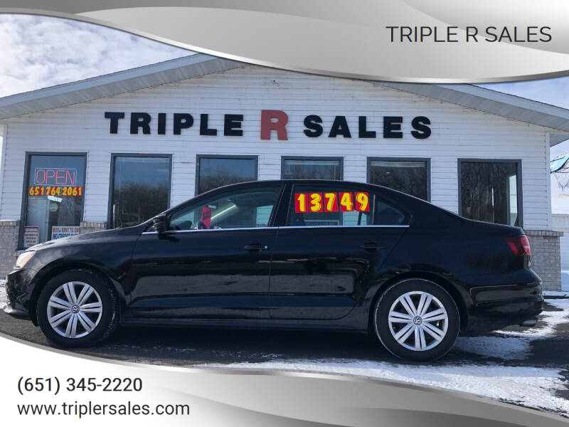 2017 Volkswagen Jetta for sale at Triple R Sales in Lake City MN