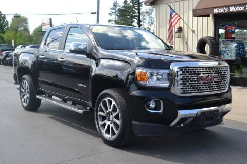 2020 GMC Canyon for sale at Nick's Motor Sales LLC in Kalkaska MI