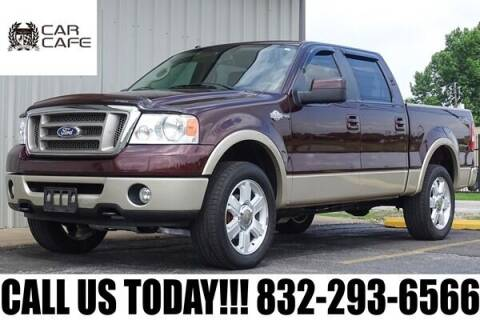 2008 Ford F-150 for sale at CAR CAFE LLC in Houston TX