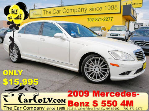 2009 Mercedes-Benz S-Class for sale at The Car Company in Las Vegas NV