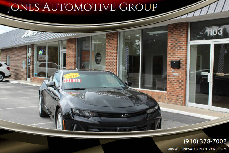 2016 Chevrolet Camaro for sale at Jones Automotive Group in Jacksonville NC
