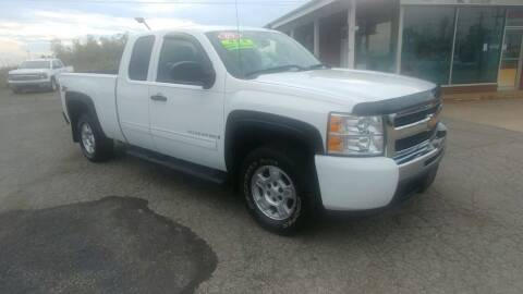 2009 Chevrolet Silverado 1500 for sale at AutoBoss PRE-OWNED SALES in Saint Clairsville OH
