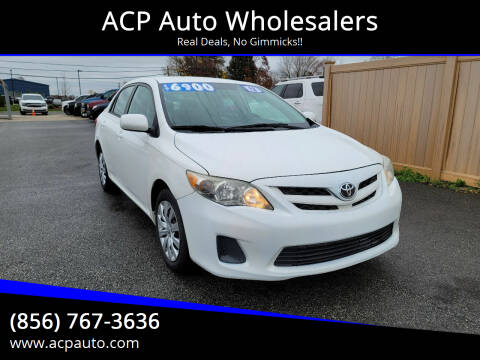 2012 Toyota Corolla for sale at ACP Auto Wholesalers in Berlin NJ