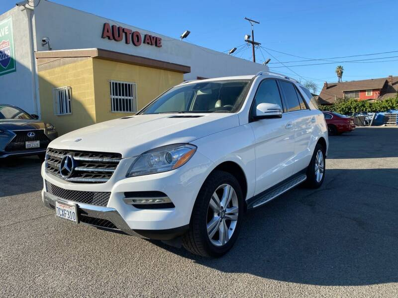 2014 Mercedes-Benz M-Class for sale at Auto Ave in Los Angeles CA