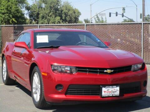 2015 Chevrolet Camaro for sale at PRIMETIME AUTOS in Sacramento CA