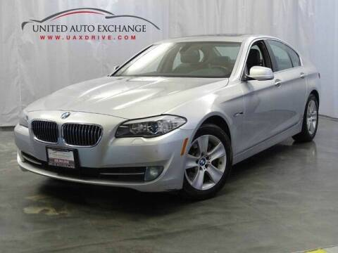 2012 BMW 5 Series for sale at United Auto Exchange in Addison IL