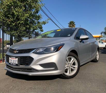 2018 Chevrolet Cruze for sale at LUGO AUTO GROUP in Sacramento CA