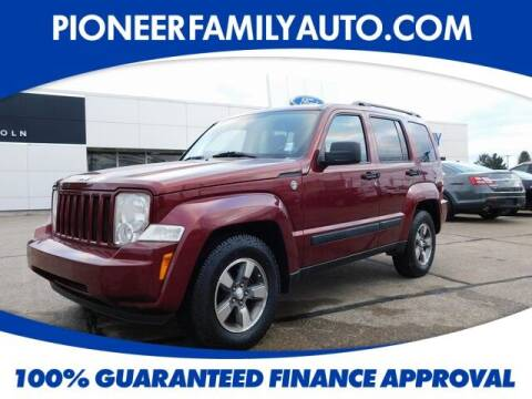 2008 Jeep Liberty for sale at Pioneer Family auto in Marietta OH