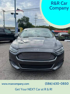 2016 Ford Fusion for sale at R&R Car Company in Mount Clemens MI