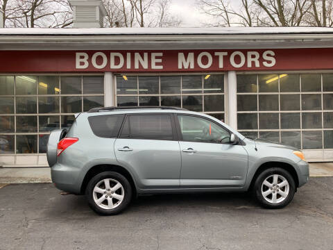 2006 Toyota RAV4 for sale at BODINE MOTORS in Waverly NY