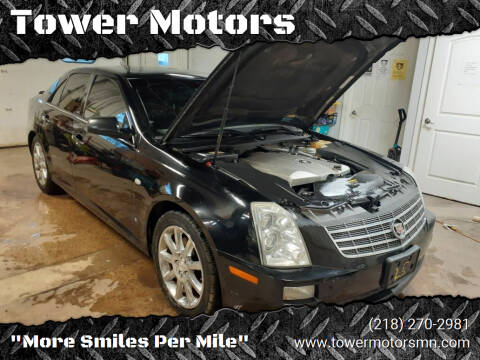 2007 Cadillac STS for sale at Tower Motors in Brainerd MN