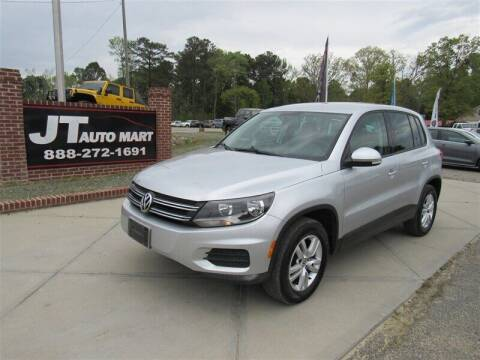 2012 Volkswagen Tiguan for sale at J T Auto Group in Sanford NC