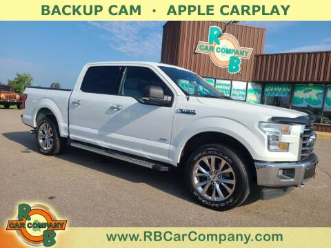 2017 Ford F-150 for sale at R & B Car Co in Warsaw IN