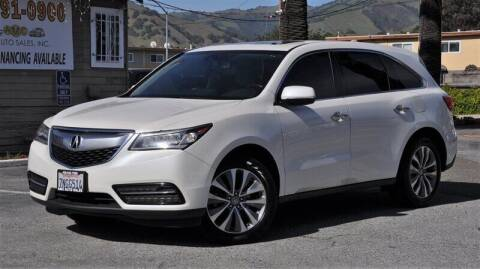 2014 Acura MDX for sale at AMC Auto Sales, Inc. in Fremont CA