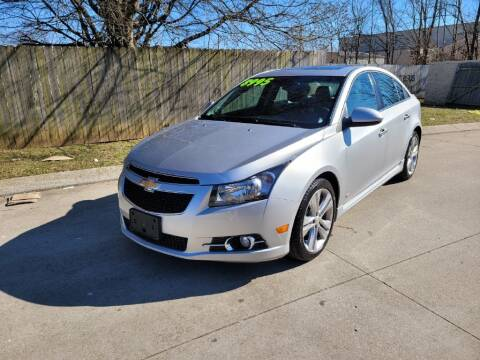 2014 Chevrolet Cruze for sale at Harold Cummings Auto Sales in Henderson KY