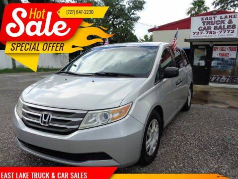 2012 Honda Odyssey for sale at EAST LAKE TRUCK & CAR SALES in Holiday FL