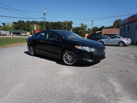 2014 Ford Fusion for sale at Auto Mart in Kannapolis NC