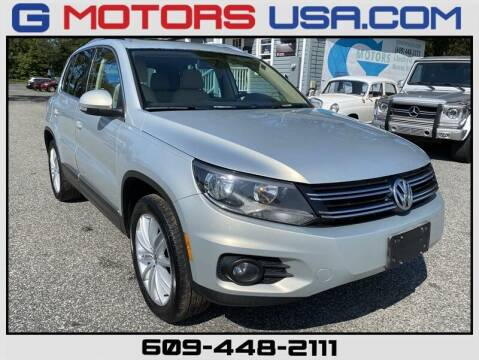 2013 Volkswagen Tiguan for sale at G Motors in Monroe NJ