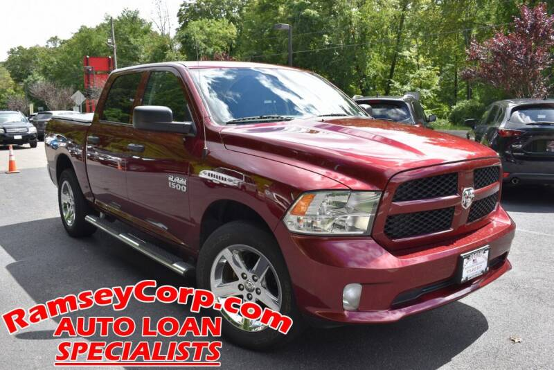 2018 RAM Ram Pickup 1500 for sale at Ramsey Corp. in West Milford NJ