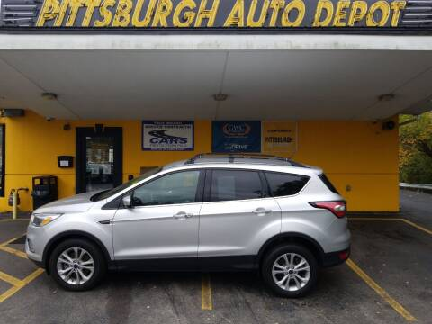 2019 Ford Escape for sale at Pittsburgh Auto Depot in Pittsburgh PA