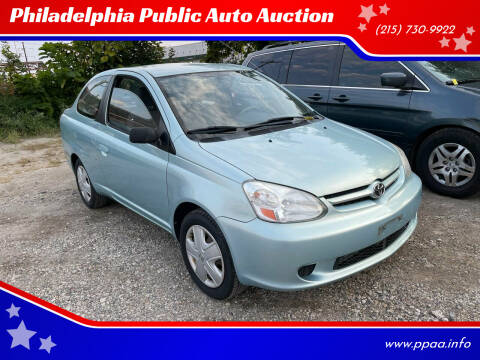 2003 Toyota ECHO for sale at Philadelphia Public Auto Auction in Philadelphia PA