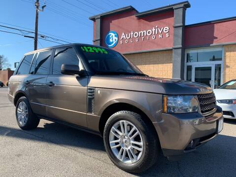 2011 Land Rover Range Rover for sale at Automotive Solutions in Louisville KY