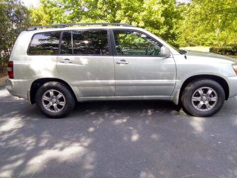 2004 Toyota Highlander for sale at Wheels To Go Auto Sales in Greenville SC