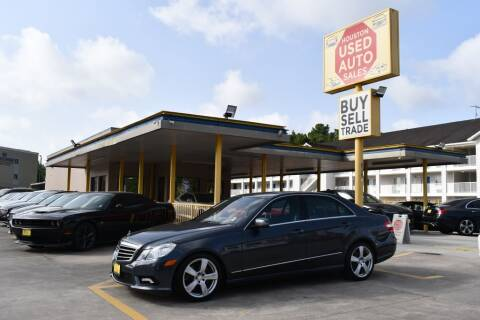 2011 Mercedes-Benz E-Class for sale at Houston Used Auto Sales in Houston TX
