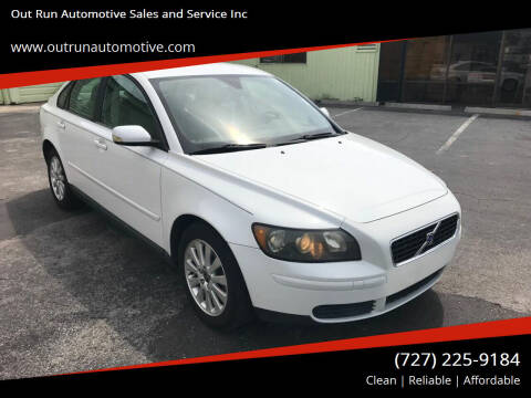 2005 Volvo S40 for sale at Out Run Automotive Sales and Service Inc in Tampa FL