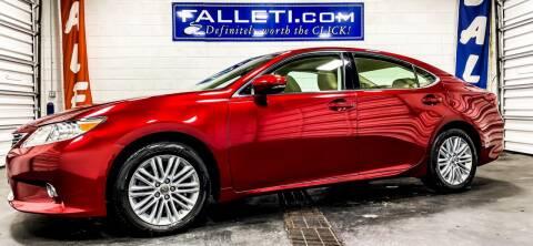 2014 Lexus ES 350 for sale at Falleti Motors, Inc.  est. 1976 in Batavia NY