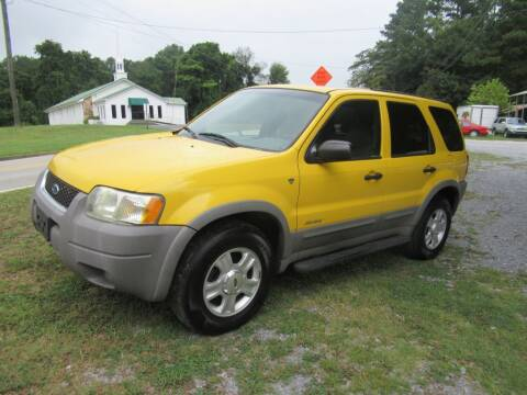 2001 Ford Escape for sale at Dallas Auto Mart in Dallas GA