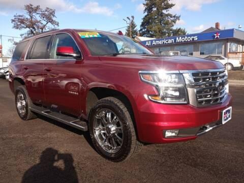 2016 Chevrolet Tahoe for sale at All American Motors in Tacoma WA