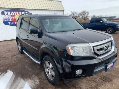 2011 Honda Pilot for sale at Praylea's Auto Sales in Peyton CO