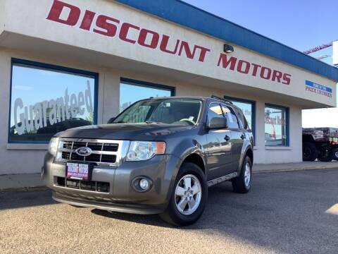 2010 Ford Escape for sale at Discount Motors in Pueblo CO