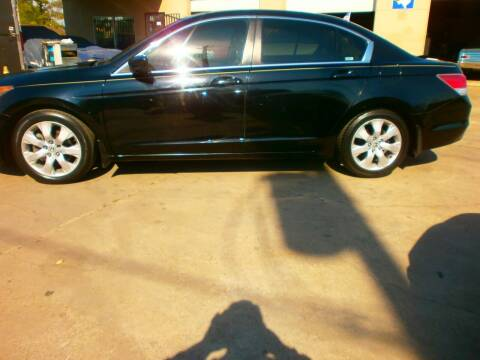 2008 Honda Accord for sale at Under Priced Auto Sales in Houston TX