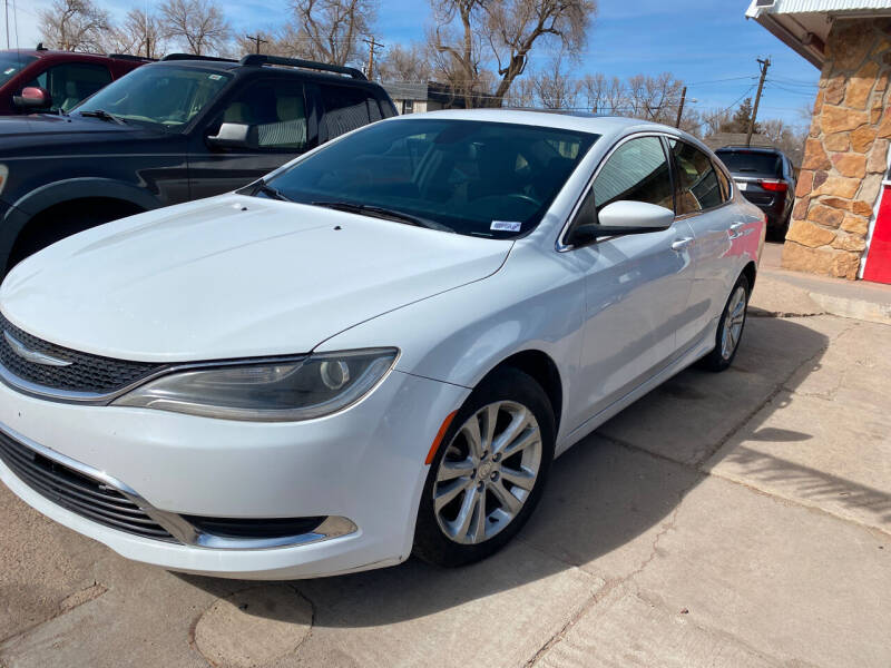 2015 Chrysler 200 for sale at PYRAMID MOTORS AUTO SALES in Florence CO