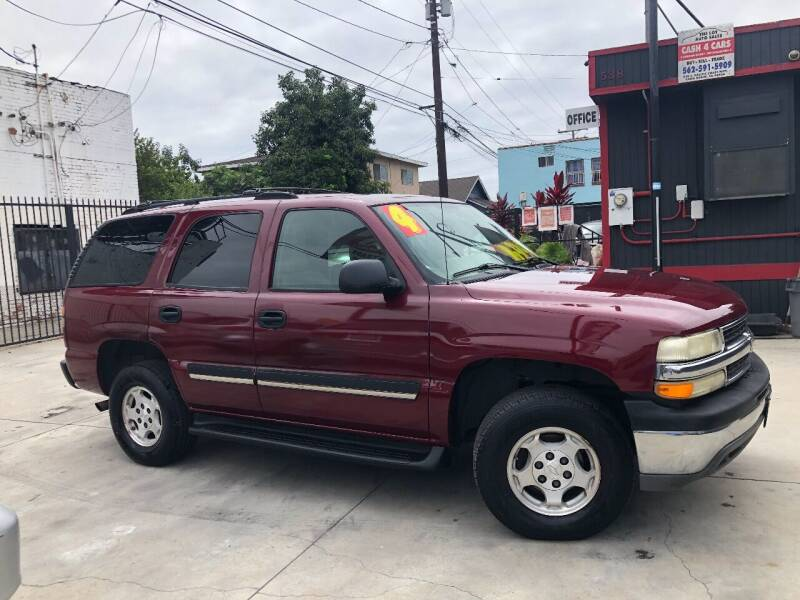 2004 Chevrolet Tahoe for sale at The Lot Auto Sales in Long Beach CA