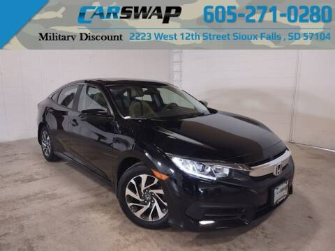 2016 Honda Civic for sale at CarSwap in Sioux Falls SD