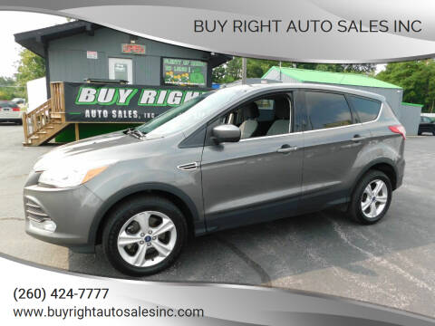 2013 Ford Escape for sale at Buy Right Auto Sales Inc in Fort Wayne IN