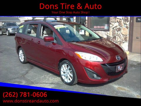 2012 Mazda MAZDA5 for sale at Dons Tire & Auto in Butler WI
