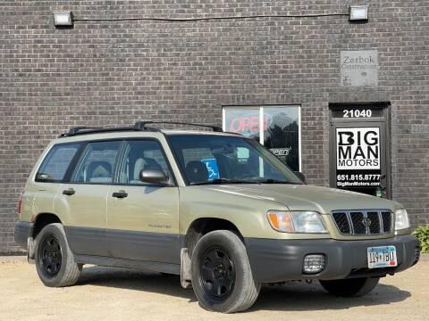 2002 Subaru Forester for sale at Big Man Motors in Farmington MN