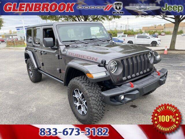 2021 Jeep Wrangler Unlimited for sale at Glenbrook Dodge Chrysler Jeep Ram and Fiat in Fort Wayne IN