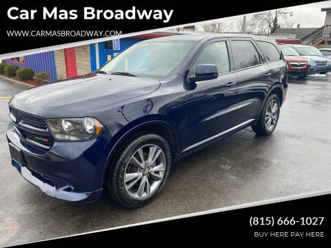 2013 Dodge Durango for sale at Car Mas Broadway in Crest Hill IL