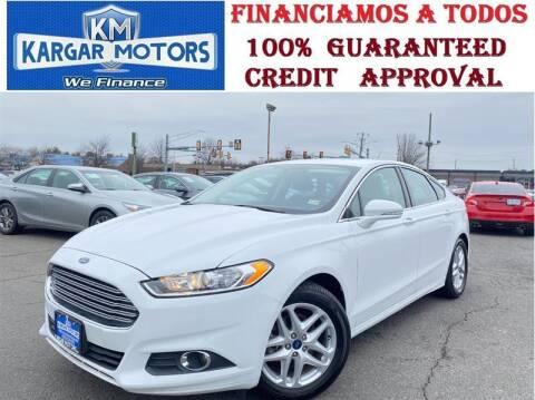 2016 Ford Fusion for sale at Kargar Motors of Manassas in Manassas VA