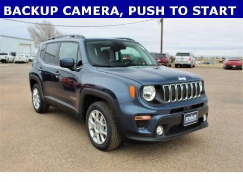 2020 Jeep Renegade for sale at STANLEY FORD ANDREWS in Andrews TX
