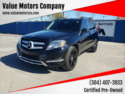 2013 Mercedes-Benz GLK for sale at Value Motors Company in Marrero LA