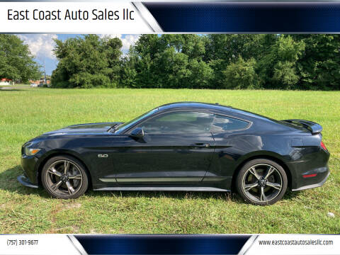 2016 Ford Mustang for sale at East Coast Auto Sales llc in Virginia Beach VA
